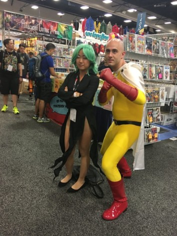 One Punch and girl