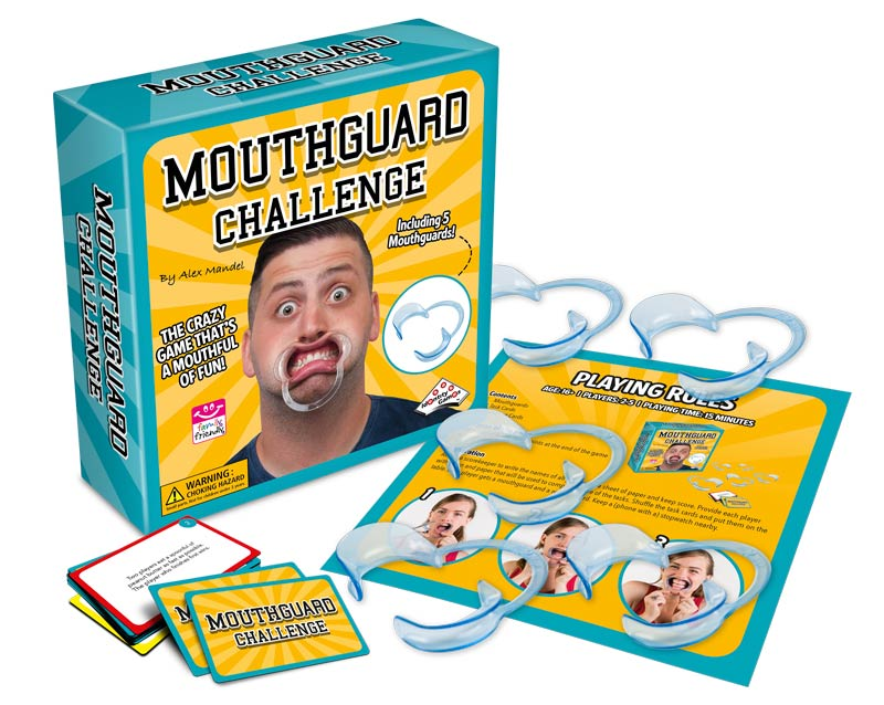 Mouthguard Challenge • Ages 16+ • $14.99