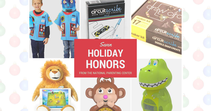 Aeromax, Big Red Rooster, Bluebee Pals and Circuit Scribe Celebrate The Holidays With National Parenting Center Seals of Approval