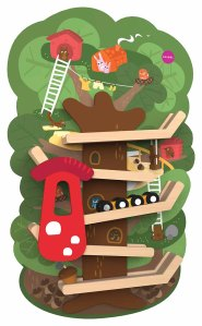 Oribel VertiPlay Tree Top toy