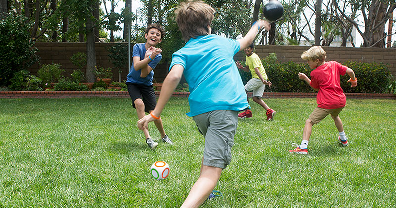Toss One At Booth 4901 To See How COOP's Scatter Dodgeball Set Has Young Players Laughing While Moving!