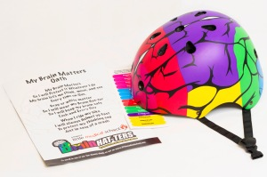 My Brain Hat-ter Helmet™ • Ages 3+ • $39.95