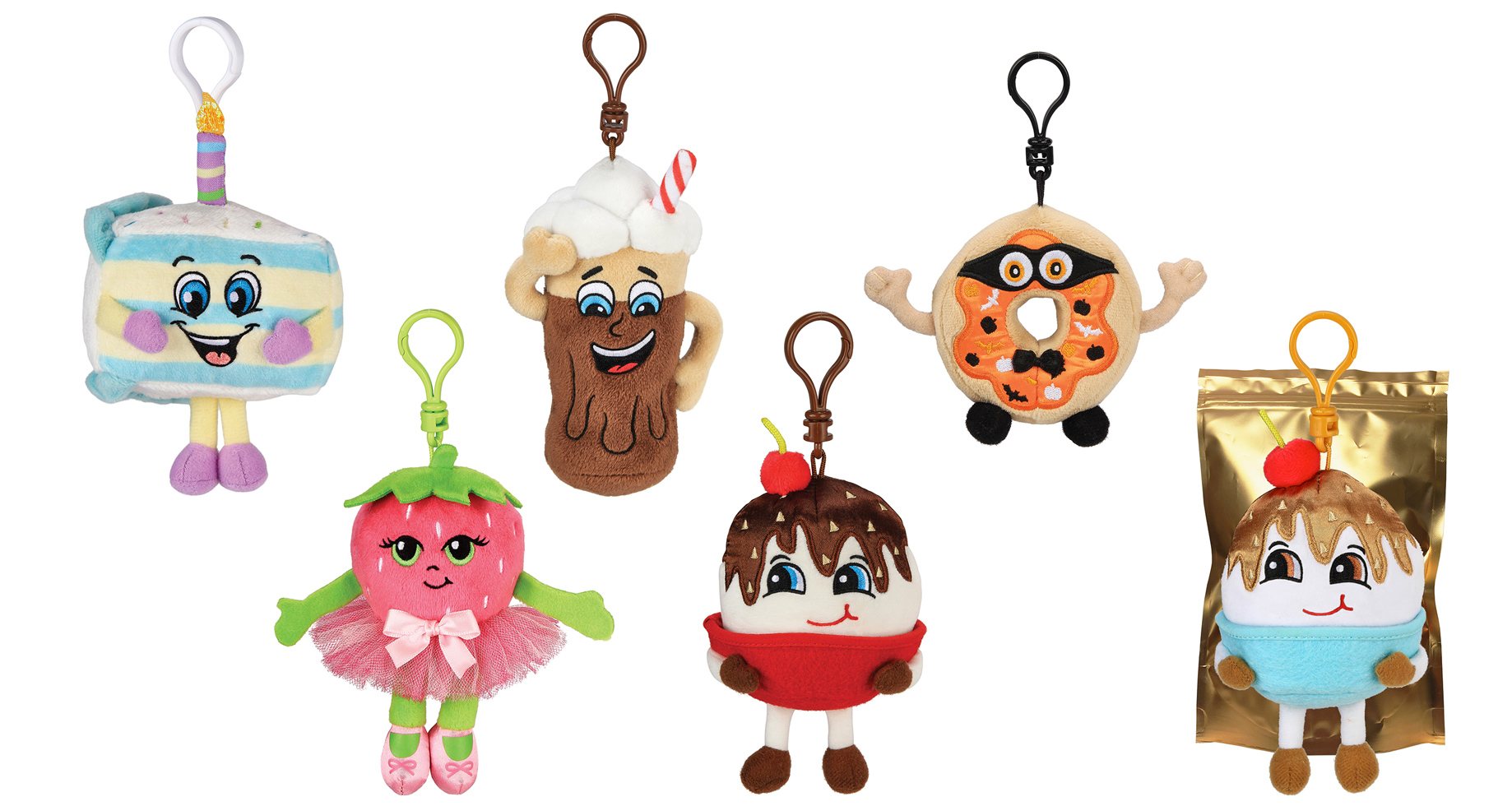 FOLLOW YOUR NOSE TO BOOTH 155 TO DISCOVER WHAT'S NEW AT ASTRA MARKETPLACE From Birthday Cake Jake to Marty McPie, Whiffer Sniffers Does It Again With Series 5 Must-Have Backpack Clips Just In Time For Back-To-School