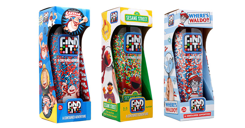 WHERE'S WALDO, ELMO & CAPTAIN UNDERPANTS? HIDING IN PLAIN SIGHT IN NEWEST FIND IT® GAMES
