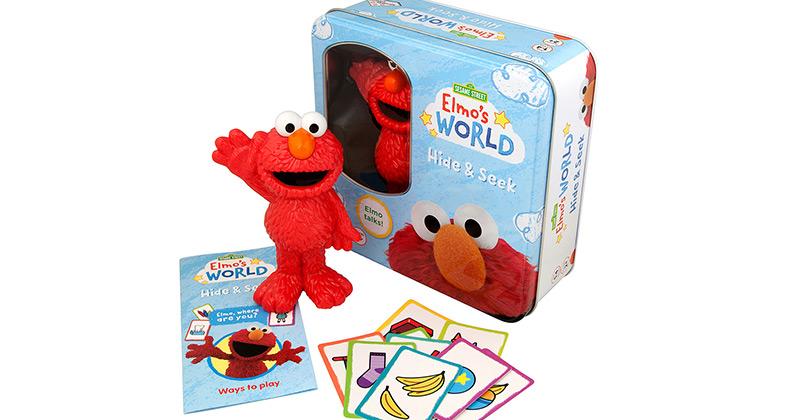 Elmo's World Hide & Seek • Ages 6 months+ • $19.99