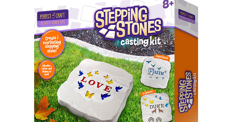 Perfect Craft Stepping Stone ($19.99), Smithsonian Museum Craft Kits ($19.99) and Eyewitness Kits ($14.99)