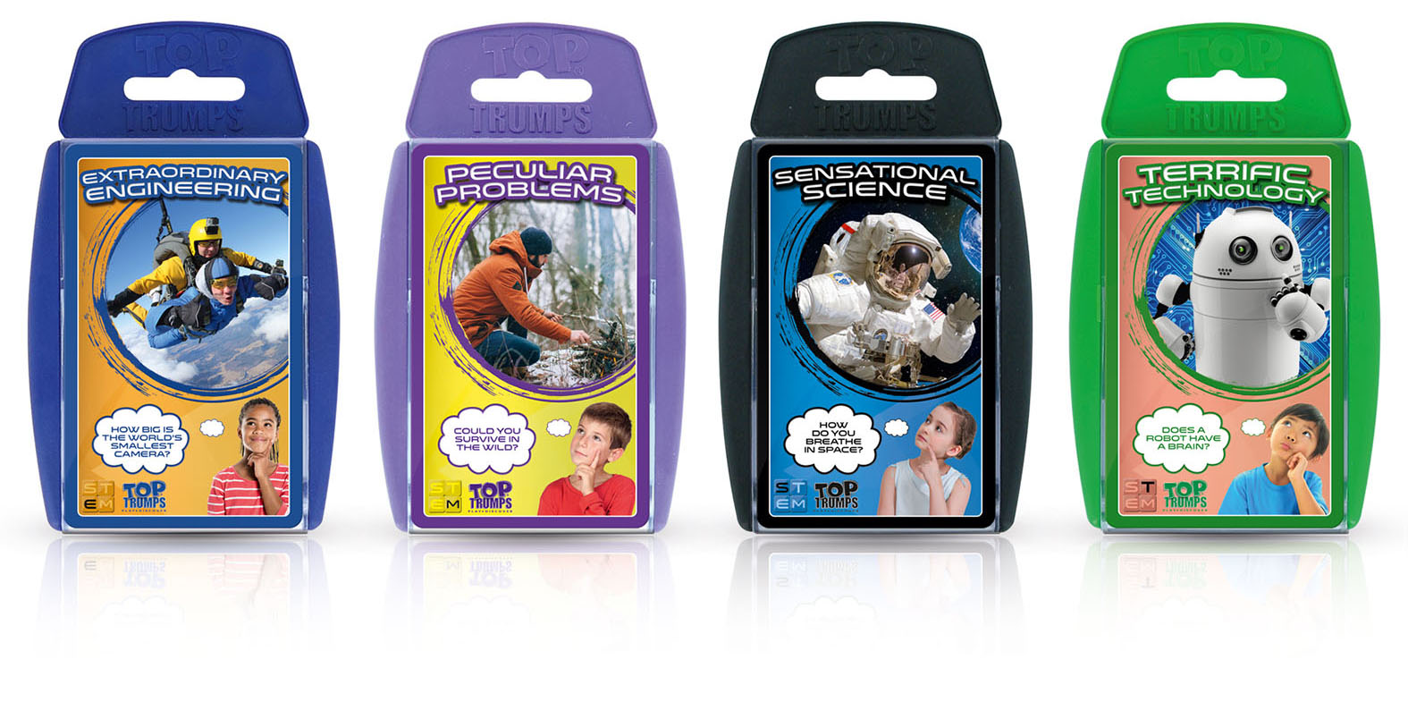 TOP TRUMPS STACKS THE DECK WITH STIMULATING STEM TOPICS FOR YOUNG TECHIES