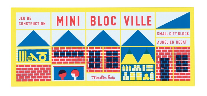 Mini Town Blocks (23 pieces) • Ages 2+ • $27