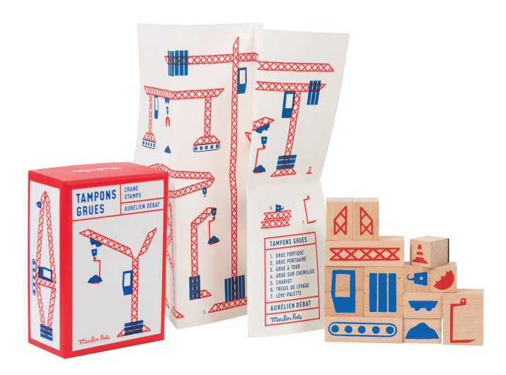 Crane ink stamps • Ages 3+ • $25
