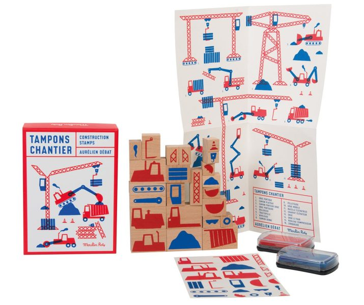 Construction Site ink stamps • Ages 3+ • $39