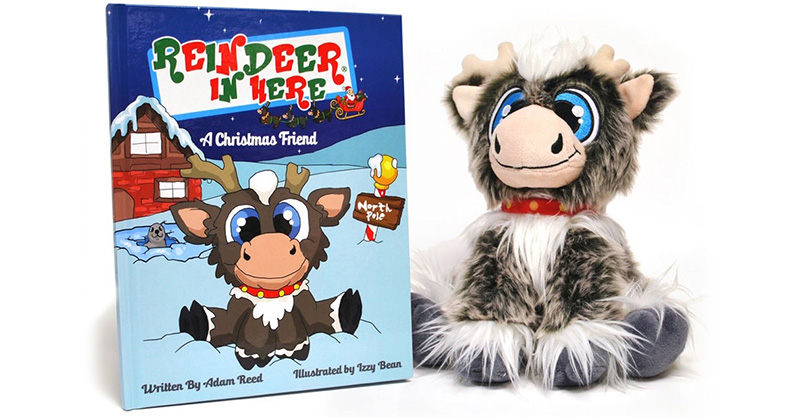 CLEAR OFF THE SHELF: SOLD-OUT REINDEER IN HERE PLUSH & BOOK SET COMING TO SPECIALTY SHOPS