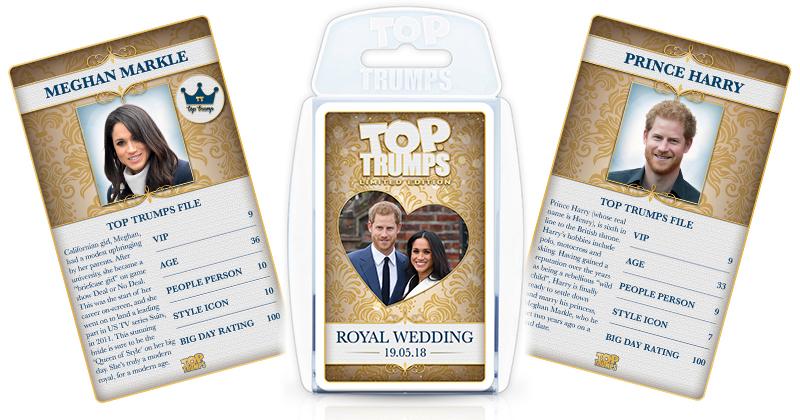 Top Trumps - Royal Wedding