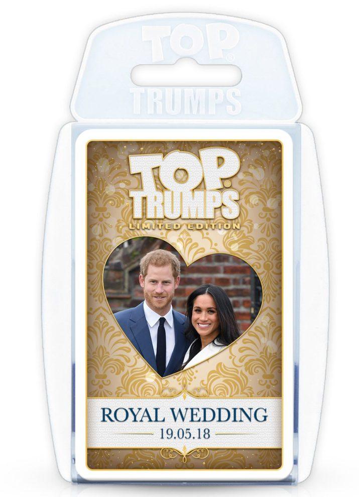 Top Trumps Royal Wedding Card Game Decks