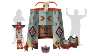 Ancestral Teepee Playhouse Kit • Ages 3+ • $99.99
