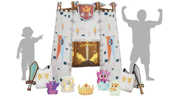 Epic Castle Playhouse Kit • All Ages • $99.99
