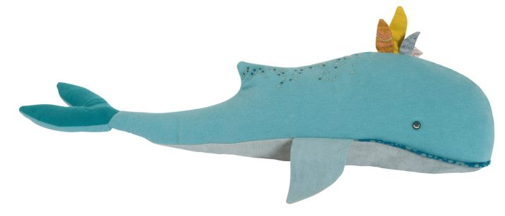 """Josephine the Blue Whale • 23.5"""" • 10 month+ • $43"""