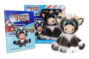 Reindeer In Here Plush & Book Set • All Ages • $29.99
