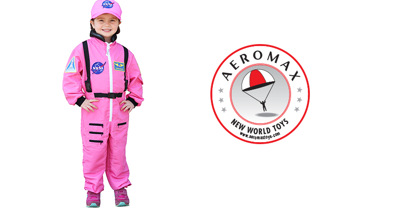 Need A Costume Or The Perfect Gift? Aeromax Introduces Jr. Flight Jackets & Jr. Astronaut Suits For Young Females To Take Flight (Down On Earth)