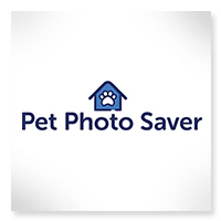 Pet Photo Saver app available on the Apple App Store or Google Play
