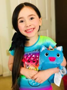 @Bellarosedunn1, 5-year-old Instagram star, is a fan of Sparkles Moosh-Moosh.