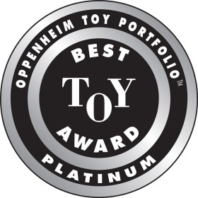 The Muslim doll is one of three in the Selma's Dolls collection. Winning the rare Oppenheim Toy Portfolio Platinum Award