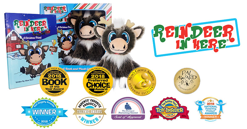 Coveted Toy Brand Reindeer In Here Becomes Most Awarded Holiday Tradition Brand of 2018