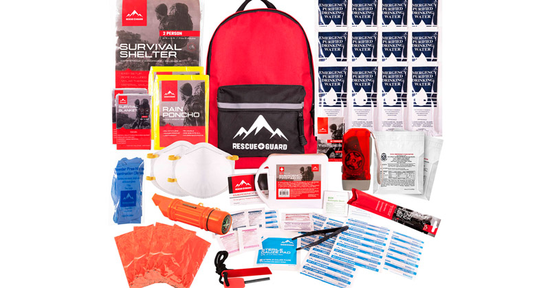 The Emergency Go Bag With Essentials For 72 Hours