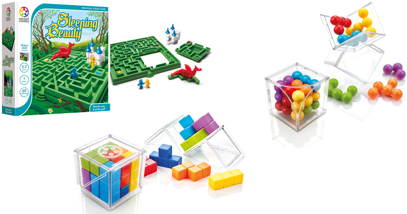 PUZZLED WHEN CHOOSING A TOY? THINK SMART AND GIFT WRAP THESE JUST-RELEASED CHALLENGES
