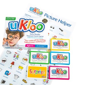 uKloo Early Reader Treasure Hunt Game • Ages 4+ • $15.99