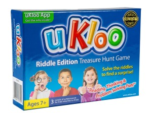 uKloo Riddle Edition Treasurer Hunt Game • Ages 7+ • $17.99