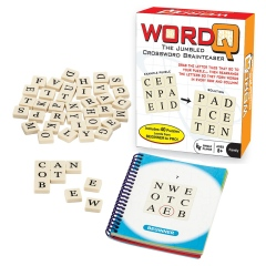 WordQ Jumbled Crossword Brainteaser • Ages 8+ • $12.99