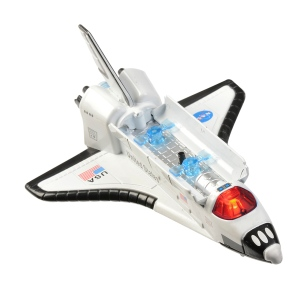 Pull Back Space Shuttle w/Lights & Sound – Boxed or Tray Pack • Ages 3+ • $7.95