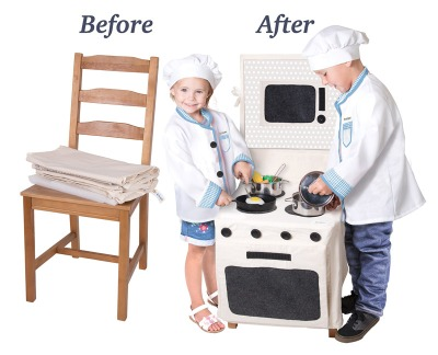 PopOhVer™ Stove Set • Ages 3+ • $39.95