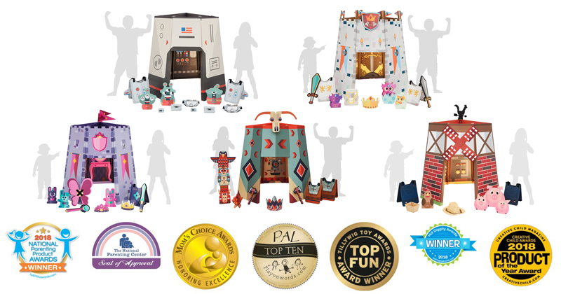 Newcomer Sharingland Wins Seven Toy Industry Contests Including Tillywig Fun Award, Hot Diggity, Creative Child and Mom's Choice