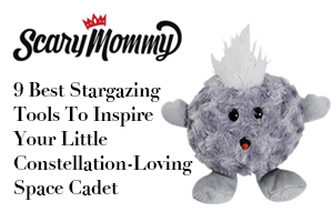 elestial Buddies Comet Stuffed Toy featured in Scary Mommy