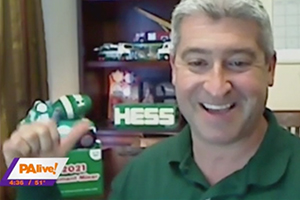HESS Toy Truck on PA Live!