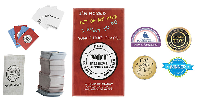 Not Parent Approved • Ages 8+ • $24.99