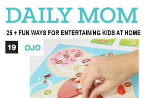 OjO Games was one of the fun ways to entertain kids at home recommended by Daily Mom