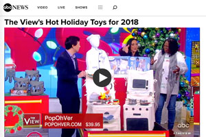 Pop-Oh-Ver featured on The View