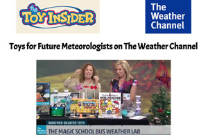 The Young Scientists Club featured on The Weather Channel
