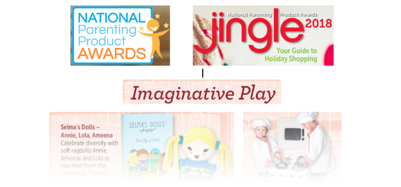 NAPPA featured many KidStuff PR clients