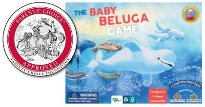 Cooperative Games: Baby Beluga Game • Ages 3+ • $34.95