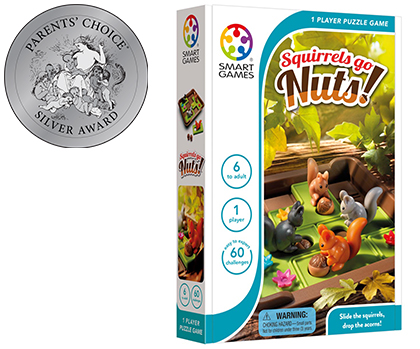 Smart Toys and Games: SmartGames Squirrels Go Nuts! • Ages 6+ • $14.99