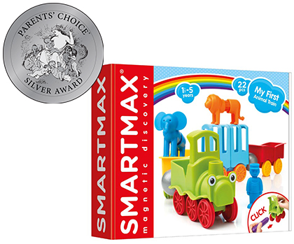 Smart Toys and Games: SmartMax My First Animal Train • Ages 1+ • $29.99