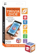 Smartphone Trivia Dice from Continuum Games • Ages 9+ • $5.99
