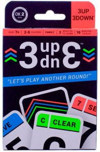 3UP 3DOWN • Ages 7 + • $9.99