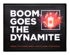 BOOM GOES THE DYNAMITE • Ages 8+ • $14.99