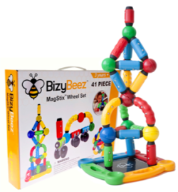 BizyBeez MagStix Sensory Magnetic Toys Building Set • $69.99