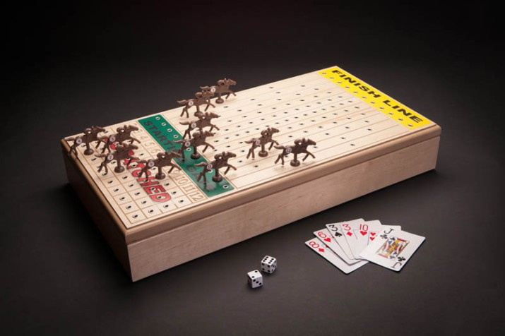 Horseracing Game – Maple $96 or Walnut $116 • Recommended Ages 13+