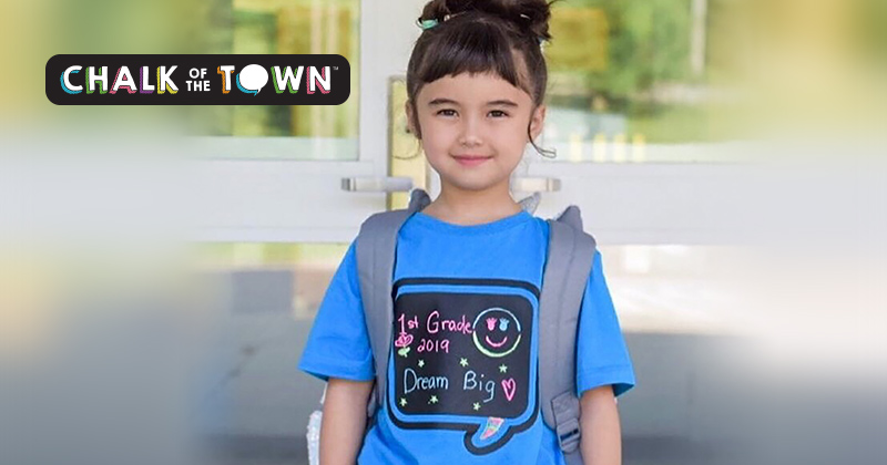 Make The Perfect First Impression At The Bus Stop Or Lunch Room Wearing A T-Shirt YOU Design!